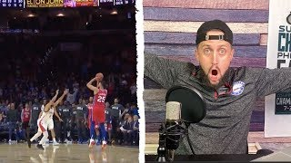 Ben Simmons FIRST NBA 3 POINTER!