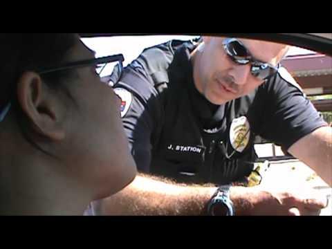 Student Driver Stopped By Chandler AZ Police -.wmv