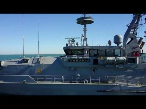 RAN Patrol Boat HMAS Larrakia 2017