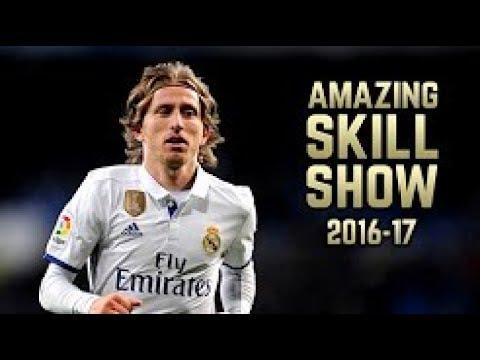 Luka Modric Magical Dribbling Skills Assists Goals 2017-2018 (HD) | Cris Tv