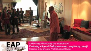 EAP Connects - Laraaji performance and laughter