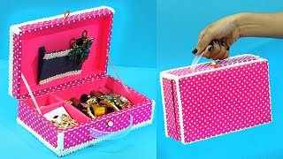 DIY Crafts : Best Out of Waste | How to Use Waste Shoe Box | Multipurpose Cupboard from Cardboard