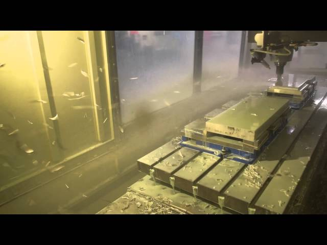 Machine Mows Aluminum (High Speed Milling) thumbnail