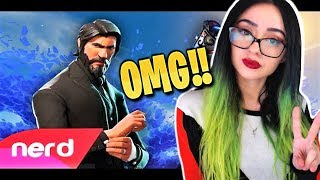 One of AngelMelly's most viewed videos: Reacting to  The Fortnite Rap Battle | #NerdOut ft Ninja, CDNThe3rd, Dakotaz, H2O Delirious & More