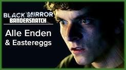 Black Mirror Bandersnatch: Alle Pfade & Eastereggs