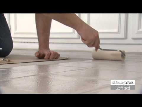 Peinture Loft Sol Effet Beton Poli Sur Www Produitsdeco Com Youtube