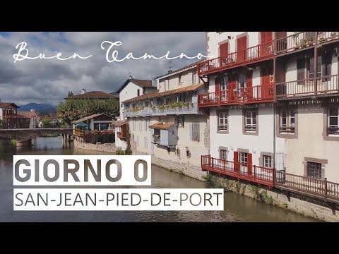 Il Cammino Di Santiago  GUIDA-LIVE  Day 0... Saint-jean-pied-de-port ☀️