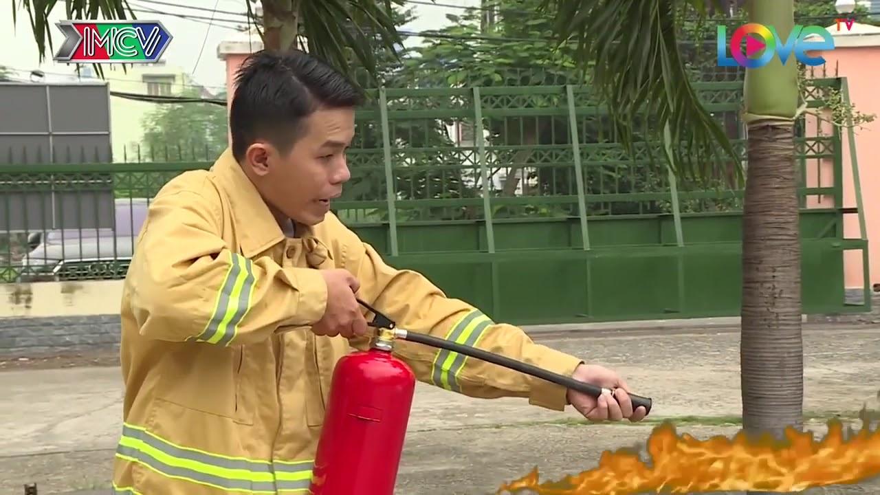 Cách sử dụng bình chữa cháy!(Bột, CO2, Bọt TH)