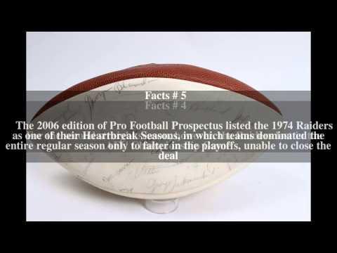 1974 Oakland Raiders season Top # 8 Facts