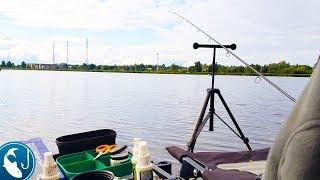🐟 Ловля леща в сентябре. Трудовая рыбалка на фидер канале. Готовим на природе.