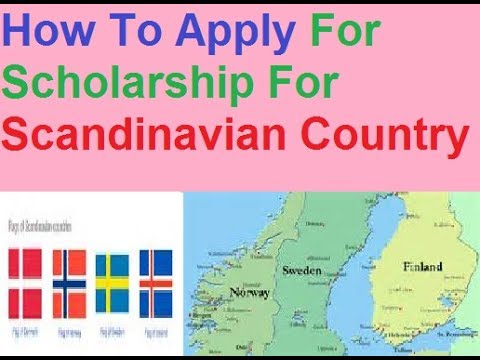 Scandinvanian Country Study || Get Free Scholarship