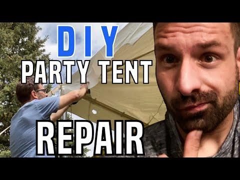vinyl-tent-repair---diy-party-tent-patch-hole---pole-tent-fix