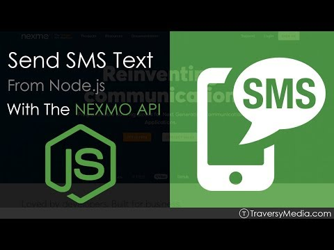 Send SMS Text Messages From Node.js
