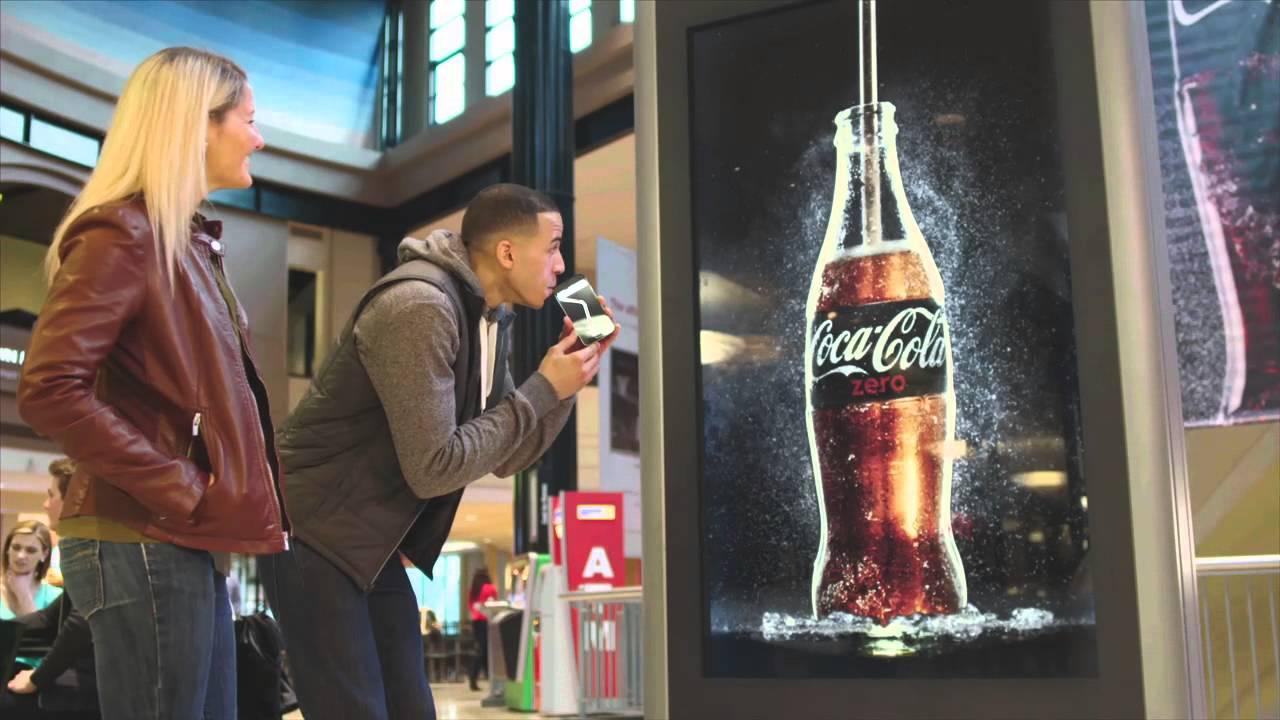 Coke Zero Shazam Commercial