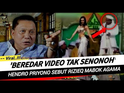 Berita Terkini ~ Hendro Priyono Sikapi Video Habib Rizieq Yang Sedang
