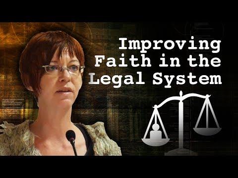 Diana Davison –Improving Public Faith in the Legal System