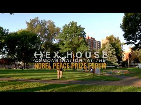 Hex House Demonstration at the Nobel Peace Prize Forum