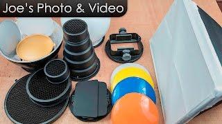 Neewer Pro SGA-K9 Speedlite Flash Accessories Kit - Setup Instructions & Overview