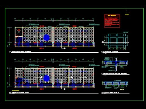 Autocad Structural Detailing Slab Reinforcement Part I