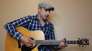 Prob'ly At A Bar - Jon Langston - Guitar Lesson | Tutorial