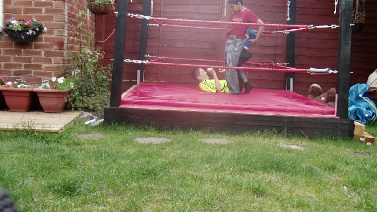 backyard wrestling in real ring train match - Backyard Wrestling In Real Ring Train Match - YouTube