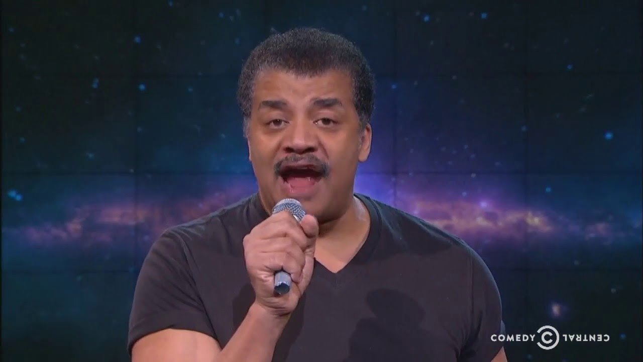 Neil DeGrasse Tyson Says the Earth is Pear Shaped