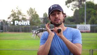 Passing & Catching a Lacrosse Ball | Catch! Lacrosse