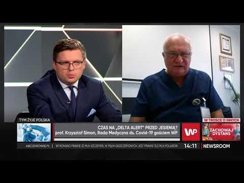 Prof. Simon o antyszczepionkowcach: otrzymam kolejne wyzwiska, ale gwiżdżę na to - Newsroom WP
