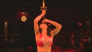 Limbo: We meet sword swallower and fire breather Heather Holliday
