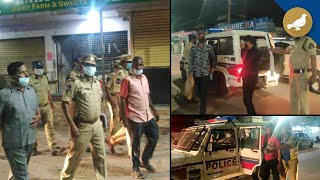 Hyderabad police crack down on youths roaming streets at night