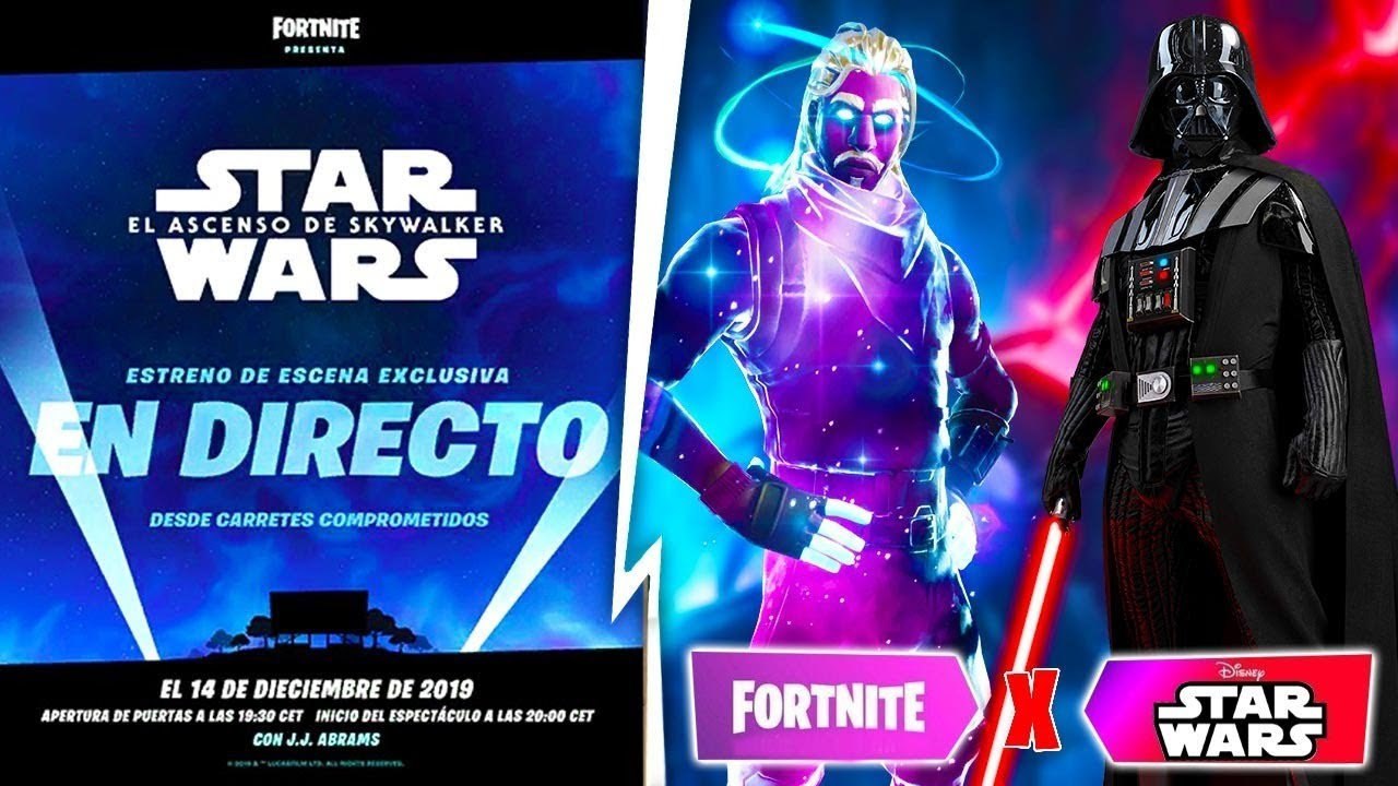 Lol Evento Película Star Wars X Fortnite En Carretes Comprometidos Youtube