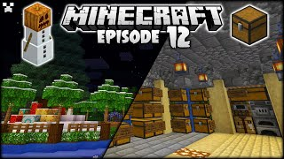 I FINALLY Made A Storage Room In Minecraft! | Python Plays Minecraft Survival [Episode 12]