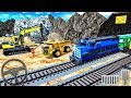 Real Railway Track Construction Simulation 3D | Builder Railroad 2018 | Android GamePlay #2