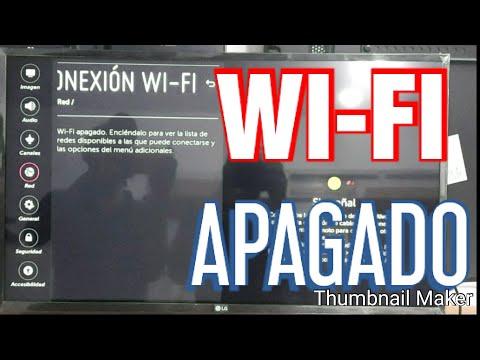 WI-FI APAGADO DE SMART TV LG RESUELTO