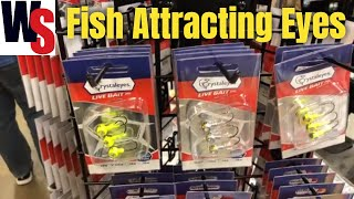 CrystalEyes Live Bait Jig Heads For Ice Fishing for Panfish, Walleye and Pike