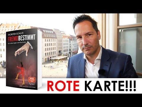 Rote Karte für Thalia! Buchhändler mit Mafia-Methoden? Buch FREMDBESTIMMT wird unterdrückt!