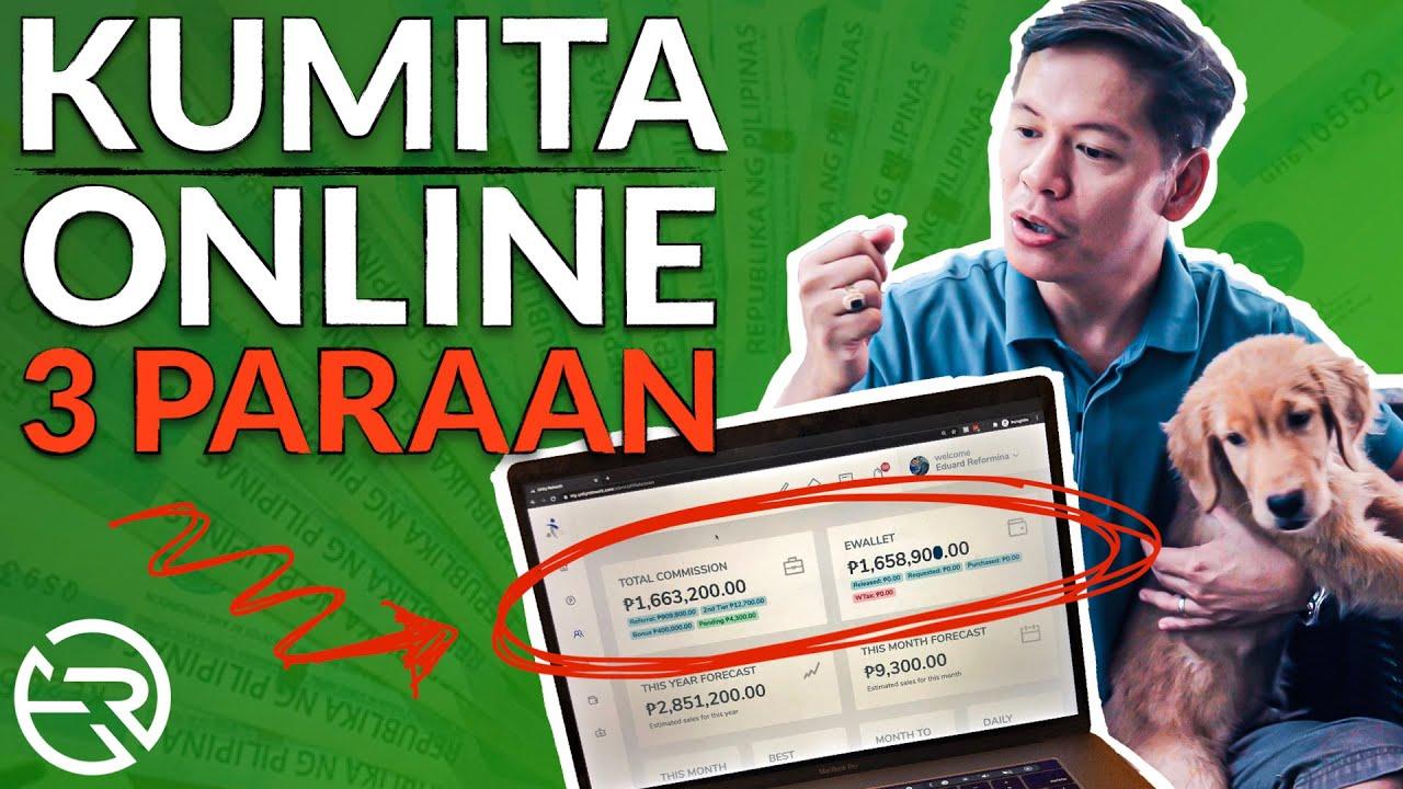 3 Simpleng Paraan Paano Kumita Ng Malaki Online At Sa Internet