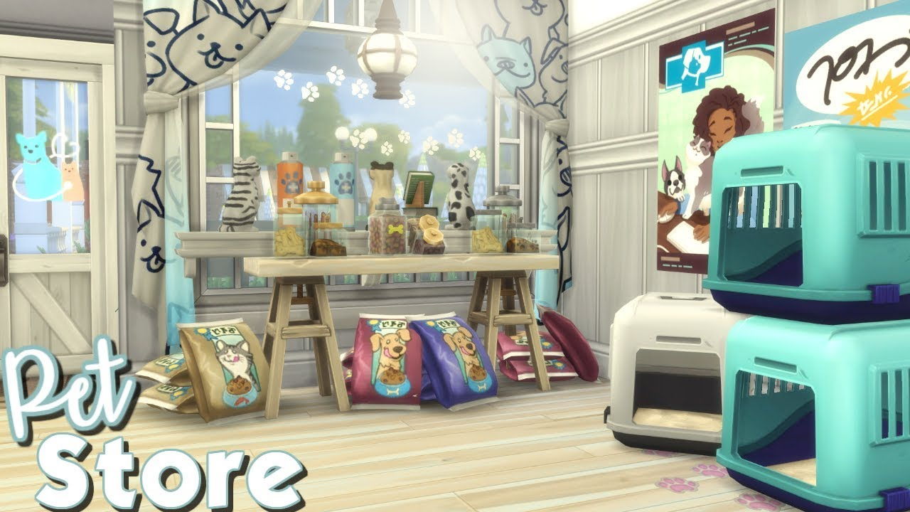 Sims  Cats And Dogs Items