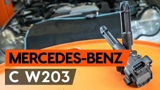 Jak vyměnit Brzdové Destičky на MERCEDES-BENZ C-CLASS (W203) - online zdarma video