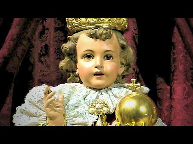 DIRETTA Festa di Gesù Bambino di Praga 2021 - Coroncina dei misteri dell'infanzia di Gesù e S. Messa