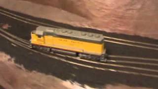 Rio Grande Railfanning in HO Scale