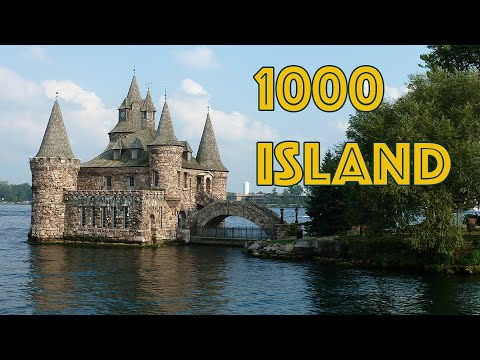 1000 Islands Boat Tour in Gananoque, Kingston Ontario Canada