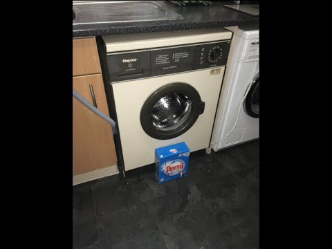 Hotpoint 9530 Electronic 1000 Plus - Final Wash on the Channel (FOR NOW)