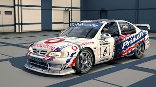 Assetto Corsa Version 1.0.4 RC , Nissan Primera 1999 BTCC @ Donnington Park