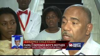 Kingston Frazier's mother distraught, family says