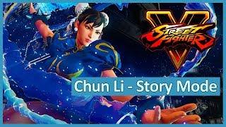 Street Fighter 5 - Chun-Li Story Mode - (PS4 Pro)