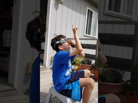 Total solar eclipse 2017 Aug 21 Omaha Nebraska