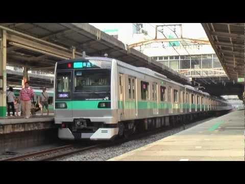 Joban Line Matsudo Station 2011.08.12