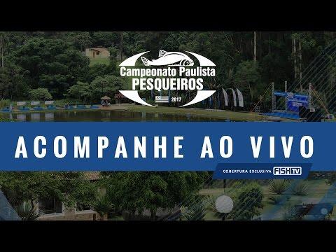 Assista ao vivo à etapa final do Campeonato Paulista em Pesqueiros