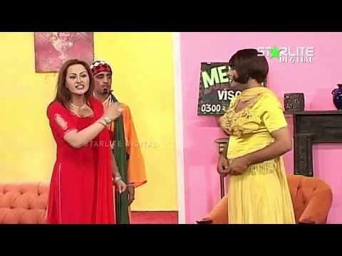Best Of Nargis and Zafri Khan New Pakistani Stage Drama Full Comedy Clip: